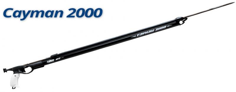 Cayman 2000 fucile 82cm +Fucili subacquei