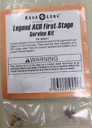 Kit revisione I° stadio c/surpressione AL (serie Legend ACD e precedenti) +Erogatori