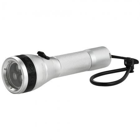 Aqualux 5000 corpo in alluminio , ricaricabile led cree +Illuminatori e torce