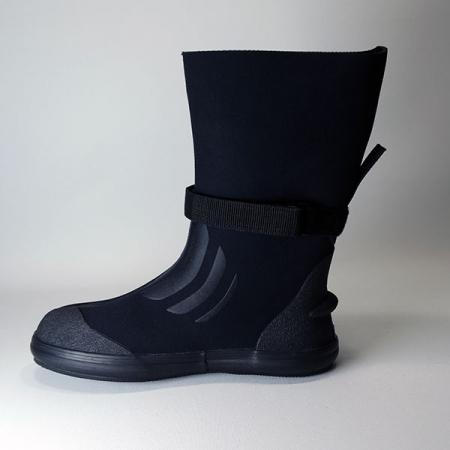 TECCNA DRY - calzare 3mm soletta in gomma e fascia velcro +Mute