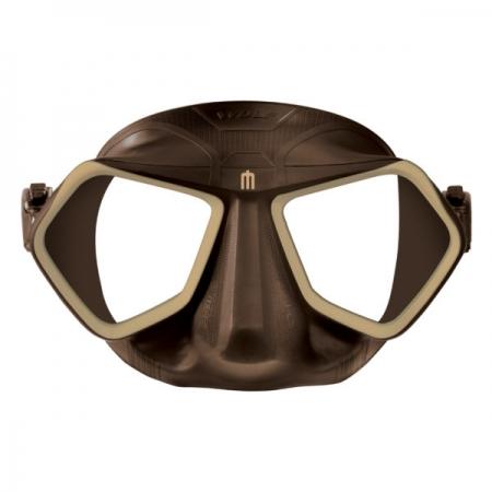 Wolf mask brown +Maschere