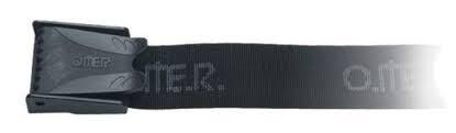 Cintura cord. nylon nera +Zavorre
