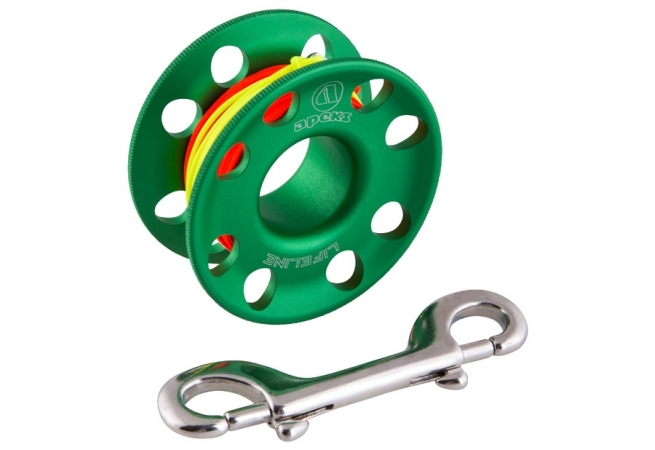 SPOOL KIT APEKS 30MT GREEN +Reel