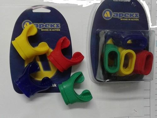 Kit 4 boccagli colorati Apekx +Erogatori